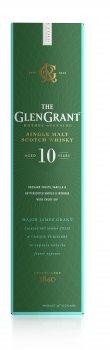 Виски Glen Grant 10 лет выдержки 1 л 40% (8000432620786)