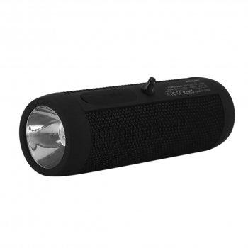Портативна бездротова колонка ZEALOT S22 з вбудованим ліхтариком Повер банк захист IP65 Black (3944-11837)