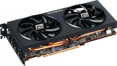 PowerColor PCI-Ex Radeon RX 6700 XT Fighter 12GB GDDR6 (192bit) (2424/16000) (HDMI, 3 x DisplayPort) (AXRX 6700XT 12GBD6-3DH)
