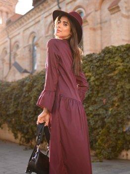 Платье DNKA д4007 Бордовое