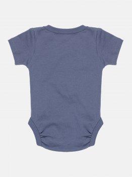 Боди-футболка H&M 502-82731812 Темно-серое