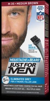 Фарба для бороди та вусів Just For Man Color M35 Medium Brown 28 gr.