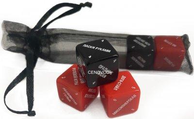 """Настільна гра для дорослих закоханих """"SEX Кубики: Класичні"""" 18+ (756834245)"""