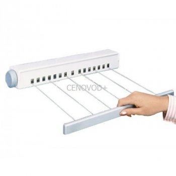 Автоматическая вытяжная бельевая веревка настенная сушилка для белья (823261)