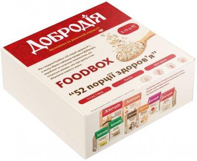 Набор Добродія Foodbox 52 порции здоровья 3.15 кг (4820182202810)