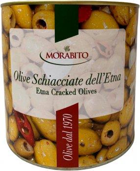 Коктейль оливок Morabito Schiacciate delletna без кісточки 200/230 1.4 кг (8000401310672)