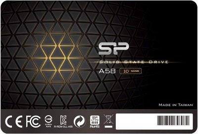 "Silicon Power A58 128GB 2.5"" SATAIII 3D NAND TLC (SP128GBSS3A58A25)"