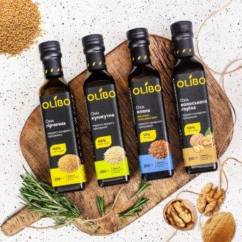 Масло из ядер грецкого ореха Olibo 250 мл (4820184310087)
