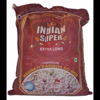 Рис басмати пропареный Indian Super Extra Long 5 кг