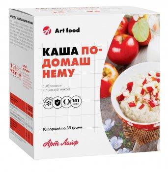 Каша ArtLife По-домашнему с яблоками и льняной мукой 1 пакетик AL7471