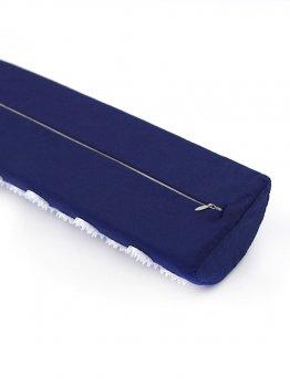 Напіввалик масажно-акупунктурний Igora ТМ Ігора RELAX 38 × 12 × 6 см синій (PL-383)