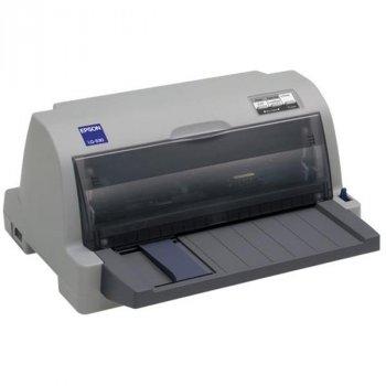 Принтер матричный A4 Epson LQ-630, 24 игл, 300 знаков/сек, USB, Ethernet, LPT Б/У