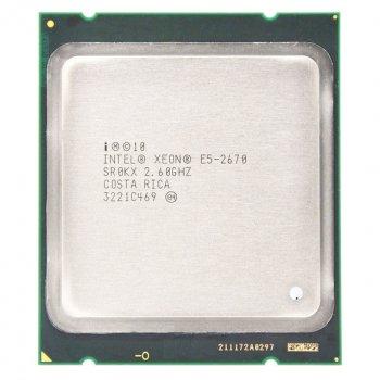 Процесор Intel Xeon E5-2670 (s2011/8x2.6GHz/8GT/s/20MB/115Вт/BX80621E52670) Б/У