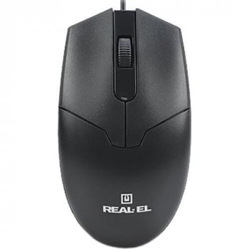 Real-El RM-208 Black USB (EL123200030)