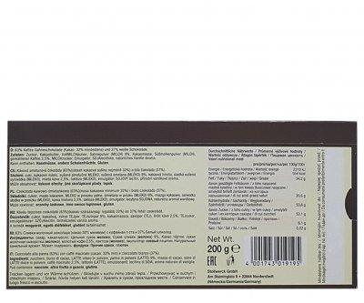 Шоколад Karina Feine Kaffee Sahne з каковим кремом 200 г (55449)