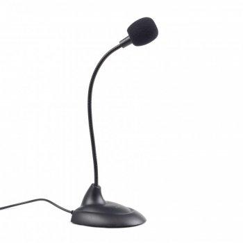 Микрофон настольный Gembird MIC-205 Black