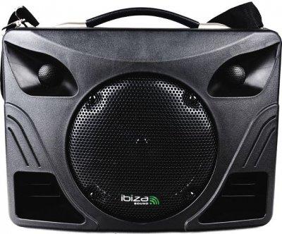 Мобільна автономна акустична система Ibiza PORT85UHF-BT