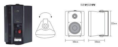 Настенная акустическая система ITC T-774P