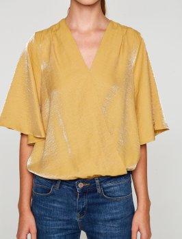 Блузка Koton 8KAK18001CW Mustard