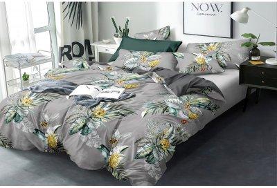 Комплект постільної білизни SoundSleep Exotic flowers сатин 160x220 (93425926)