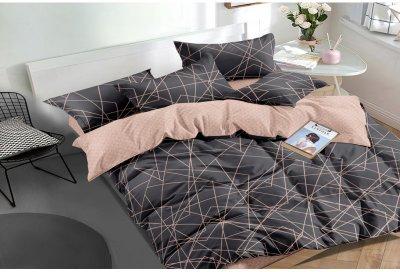 Комплект постельного белья SoundSleep Facets сатин 160х220 (93425834)