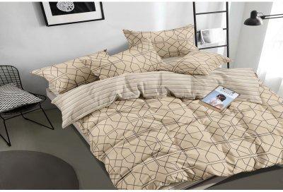 Комплект постельного белья SoundSleep Hexagons сатин 160х220х2 (93425049)