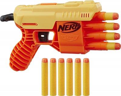 Бластер Hasbro Nerf Alpha Strike Nerf Fang QS-4 (E6973) (5010993624126)