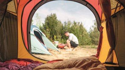 Гриль вугільний Easy Camp Adventure Grill 35 x 36 х 36 см Orange (928359)