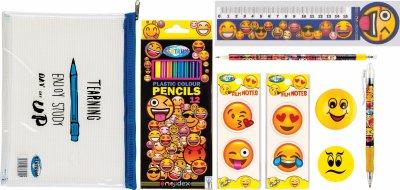 Набор канцелярских принадлежностей Centrum Emojidex 9 предметов (2000998450465)