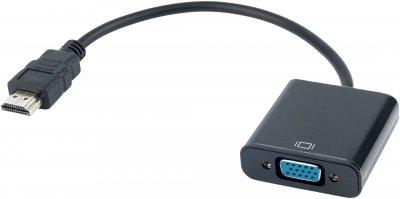 Адаптер ProfCable HDMI Converter, VGA 0.2 м Black (HVA-11)