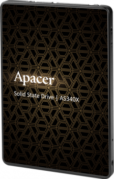 "Apacer AS340X 480GB 2.5"" SATAIII 3D NAND (AP480GAS340XC-1)"