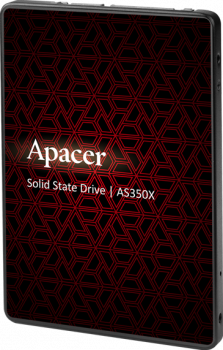 "Apacer AS350X 512GB 2.5"" SATAIII 3D NAND (AP512GAS350XR-1)"