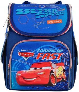 Рюкзак школьный каркасный 1 Вересня H-11 Cars Мужской (556154)