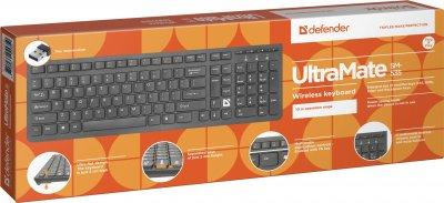 Клавиатура беспроводная Defender UltraMate SM-535 Black (45535)