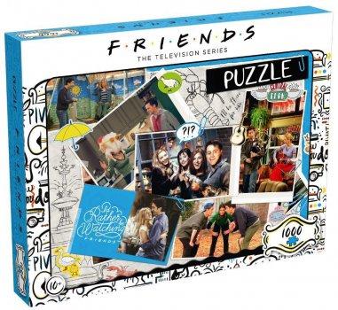 Пазл Winning Moves Jigsaw Puzzle Friends Scrapbook 1000 елементів (WM00378-ML1-6) (5036905039611)