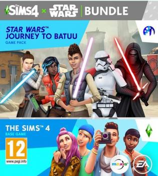 The Sims 4 Star Wars: Путешествие на батуте. Дополнение для ПК (PC-KEY, русская версия, электронный ключ в конверте)