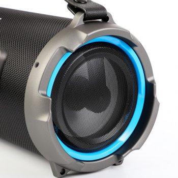 Портативна Bluetooth колонка Cigii K1202 з RGB підсвіткою, 13 Вт Black