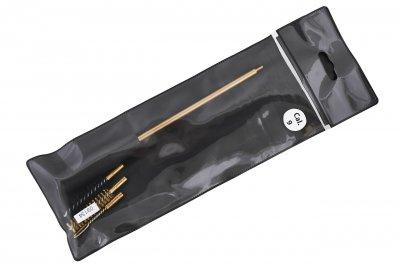 Набор для чищення зброї калібр 9 мм (латунь, синтетика, вішер) ПВХ упаковка 09134