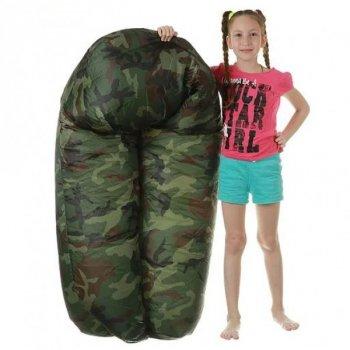Надувной матрас - шезлонг ,водонепроницаемый ламзак AIR - sofa ARMY