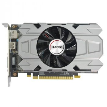 Видеокарта AFOX GeForce GTX 1050, 2Gb GDDR5, 128-bit, DVI/HDMI/DP, 1455/7008 MHz, 6-pin (AF1050-2048D5H7-V3)