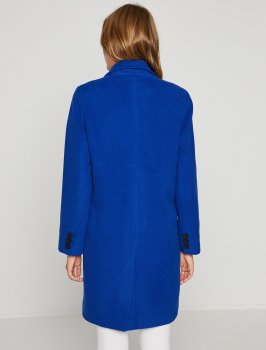 Пальто Koton 8YAK06166EW-665 Sax