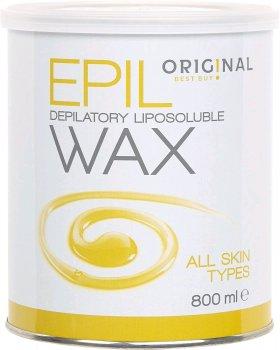 Віск для депіляції Original Best Buy Epil Wax жиророзчинний для всіх типів шкіри 800 мл (5412058185878)