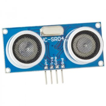 Ультразвуковой датчик измерения расстояния HC-SR04 Arduino