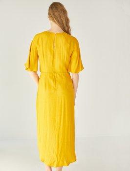 Платье Koton 8YAK88442PW-151 Yellow