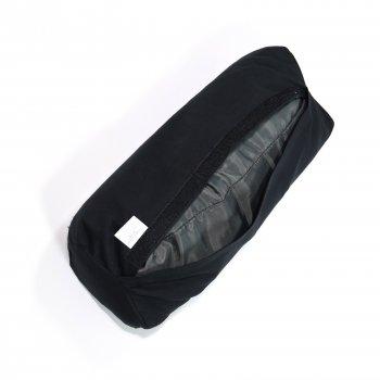 Масажний Валик (напіввалик аплікатор Кузнєцова) масажер для голови/шиї/спини OSPORT Lotus Eco (apl-024) Чорно-білий