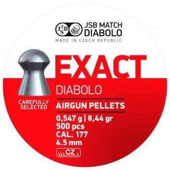 Пули JSB Diabolo EXACT 4,5mm. 500шт. 0,547г.