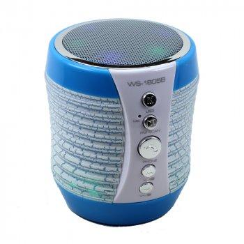 Портативна Bluetooth колонка WSTER WS-1805 ( (TA77OD)