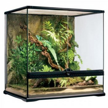 Террариум Exo Terra стеклянный Natural Terrarium, 60х45х60 см