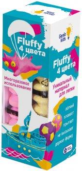 Воздушный пластилин для детской лепки Genio Kids Fluffy 4 цвета (TA1501) (4814723005992)
