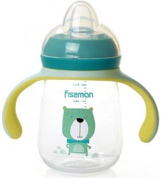 Бутылочка детская для кормления Babies Мистер Пёс 260мл с ручками Fissman (Р01632317263)